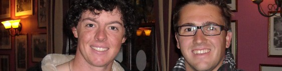 4 mates play in St Andrews and meet… Rory McIlroy!