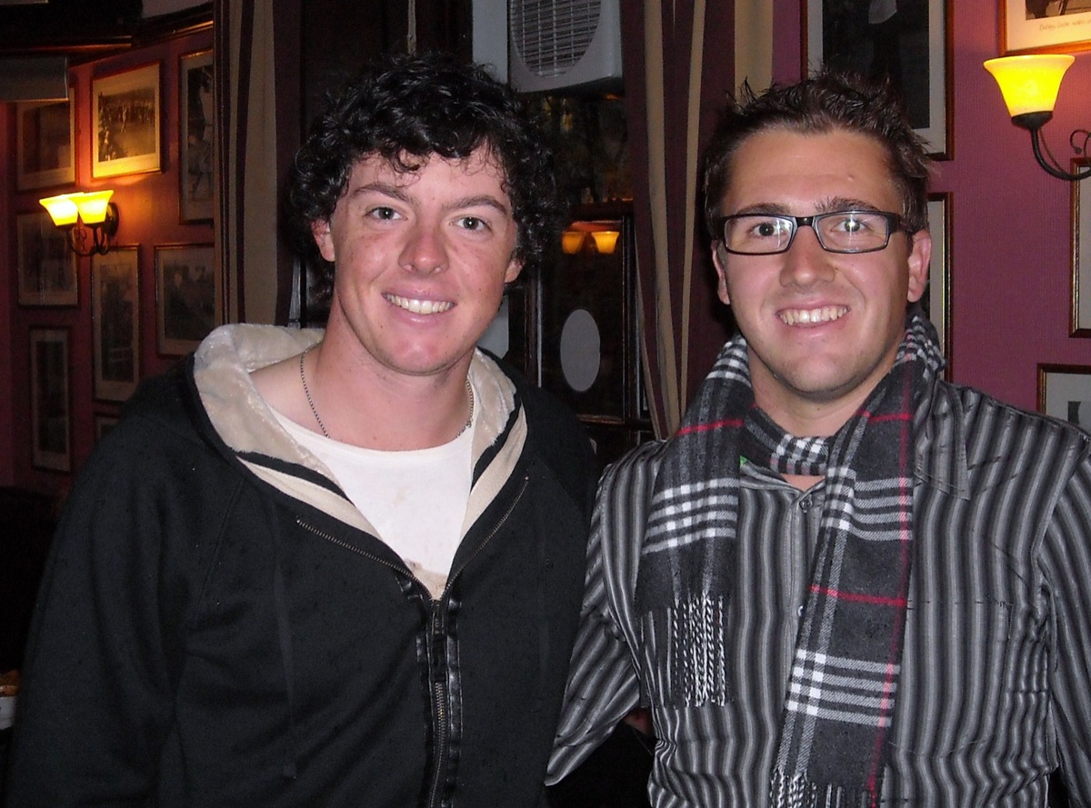 Rory McIlroy and Jo