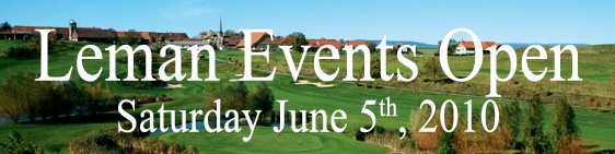 Léman Events Open - Vuissens Golf Club, June 5th