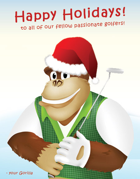 Gorilla Golf Blog Happy Holidays