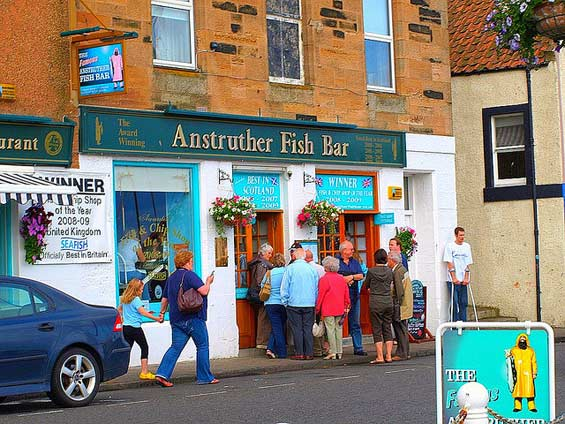 Anstruther-fish-and-chips shop