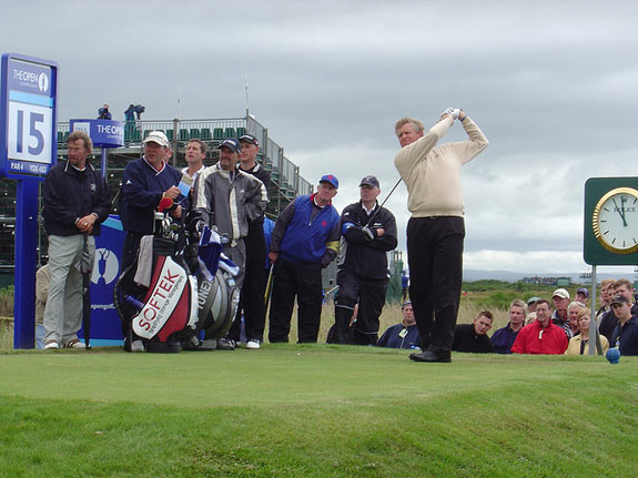 Colin-Montgomerie Scottish golf player