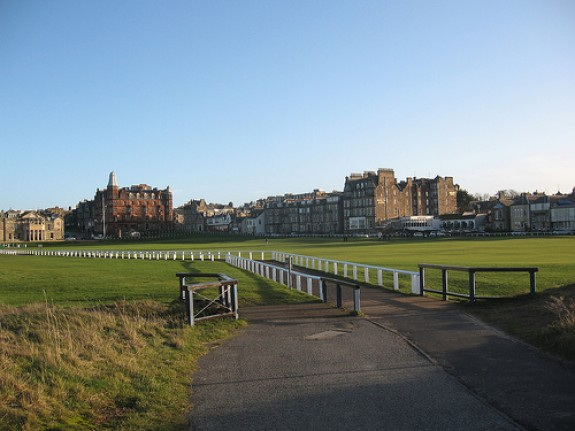 St Andrews golf course Scotland