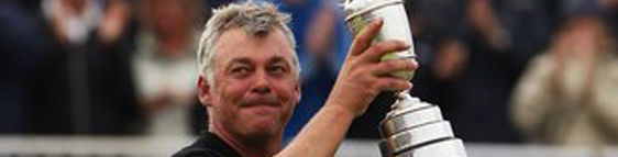 Darren Clarke - 2011 British Open Champion at the age of 42