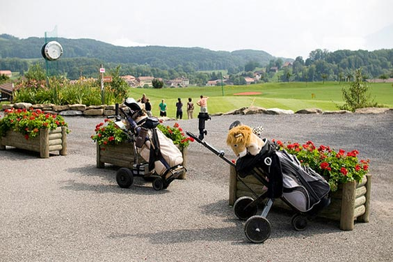 managing a golf course