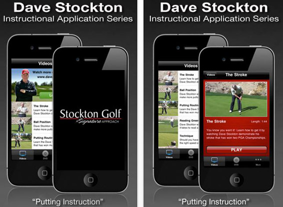 Dave Stockton's Putting Instruction app