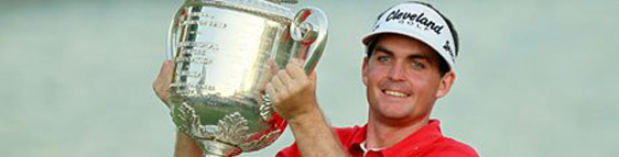 Keegan Bradley and his Cleveland Golf Equipment