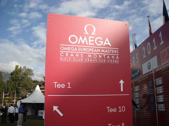 Omega-European Masters 2011 Switzerland