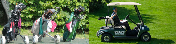 Golf Cart - To Walk or Ride on a Golf Course? The 21st Century Golfing Dilemma