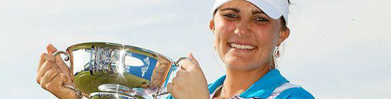 Lexi Thompson and her Cobra Golf Equipment