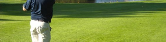 golf-player-on-Lausanne-golf-course-Switzerland