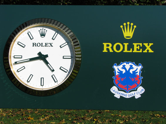 Rolex-golf course watches