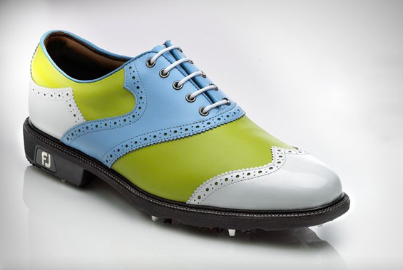 Footjoy Golf Shoes Leather Uppers