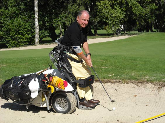 Pierre-Massard-disabled golfer Switzerland