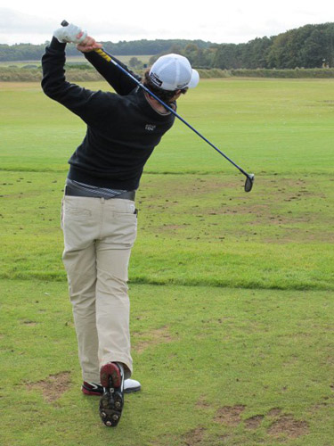 Rory-McIlroy-golf swing in 2012