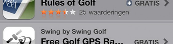 iPhone and iPad golf apps