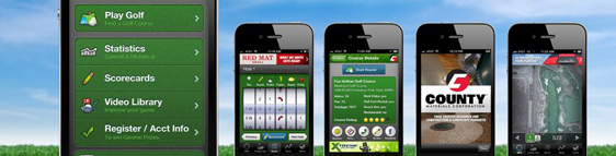 New Golf Apps Releases in 2012 for iPhone, iPad and Android