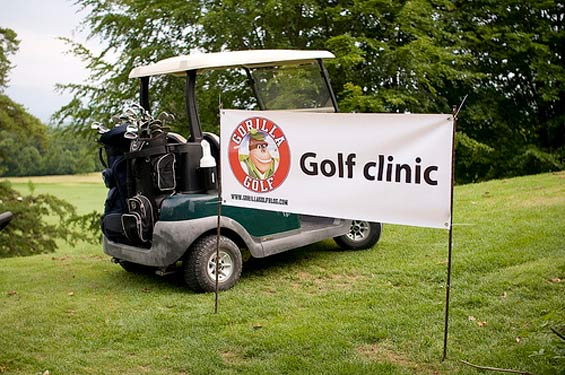 Golf-cart-Gorilla-Golf-Blog golf clinic for swiss AP