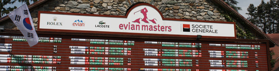All you need to know about the 2012 Evian Masters