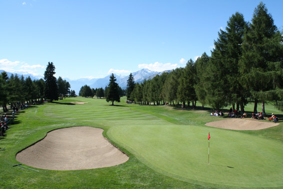 Crans-Montana-Omega Masters-9th-green