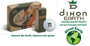 Dixon Earth Golf BallJ