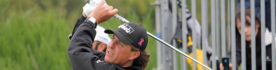Phil Mickelson Golf Bag and Equipment in 2013