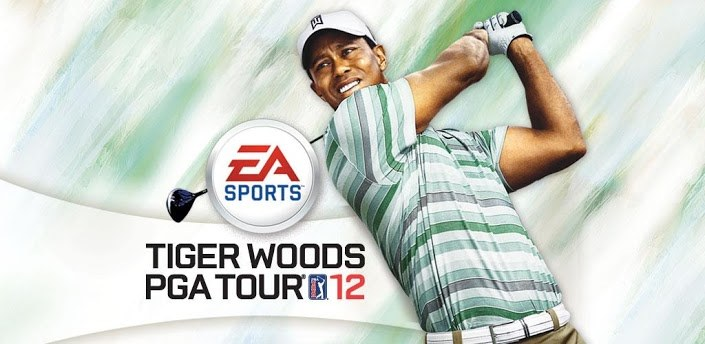Tiger Woods PGA Tour 12 app vs PS3 game