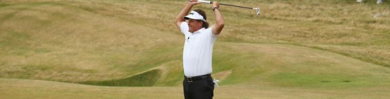 Phil Mickelson Wins British Open by taking Route 66
