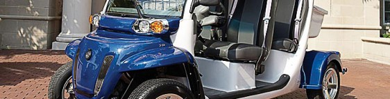 Four Hi-Tech Improvements for the Golf Cart of the future