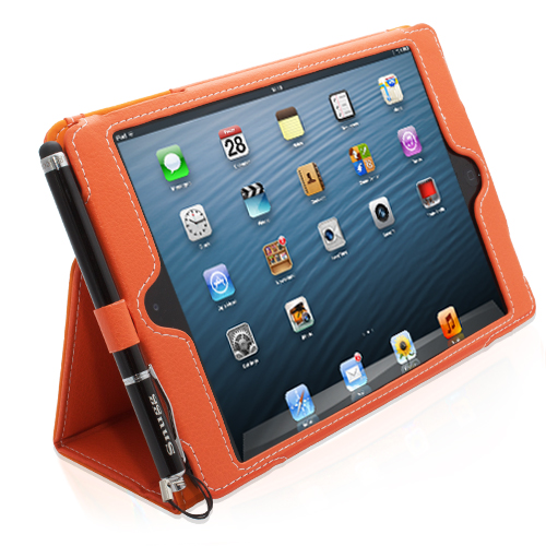 Orange Snugg iPad cover
