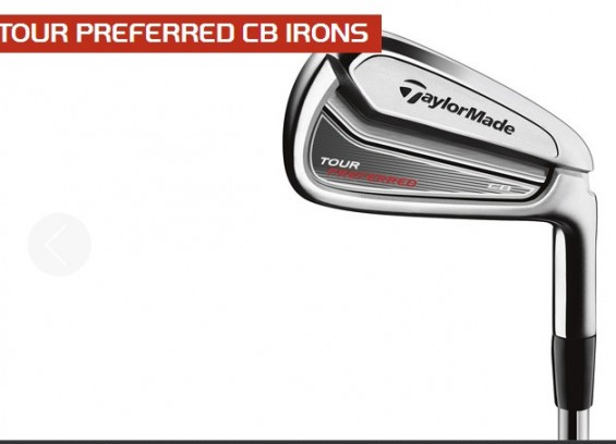 Taylormade Tour Preferred Irons Ranges