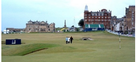St. Andrews golf course in Scotland
