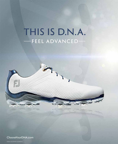 D.N.A. new golf shoes from-FootJoy