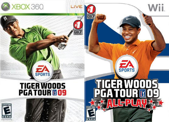 Tiger Woods EA Sports Games