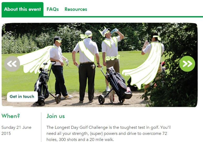 MacMillan Longest Day Golf Challenge Pic 2