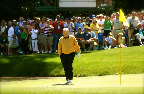 Jack Nicklaus at The Masters
